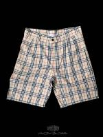 【FLASHBACK18SS最新作】Beige Check Shorts