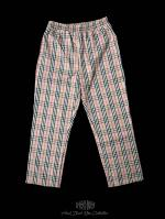 【FLASHBACK18SS最新作】Beige Check Wide Pants