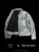 【FLASHBACK×KincrossWorldコラボ企画】OVERSIZE Reversible Vintage Denim & MA-1 Ver FB
