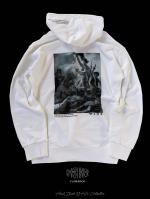 【FLASHBACK19SS最新作】OldPick BackPhoto Hoodie WHT