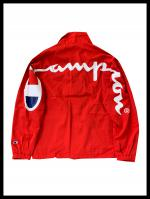 【海外限定】Champion Arch Logo Coach JKT RED