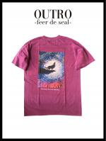 OUTRO-feer de seal- Wolf Painting Logo Tee Pigment