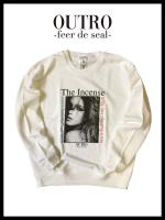 OUTRO-feer de seal- Incense Lady Sweat shirt WHT