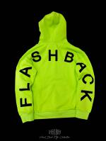 【FLASHBACK20SS最新作】Essential Arch Logo Parfect Hoodie Lime