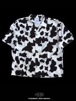 【FLASHBACK20SS最新作】Hyper Fit OVERSIZE Cow short sleeve shirt