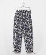 LEGENDA Paisley Pattern Wide Pants