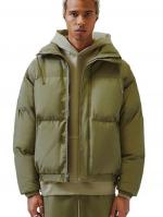 ESSENTIALS FOG PUFFER JACKET OLIVE