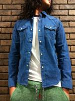 Western Denim corduroy Shirts
