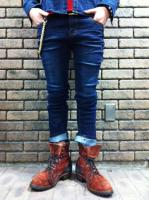 【FLASHBACK最新作】Strech Solid Skiny Denim Pants