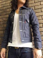 【30%OFF】Burn Out Western Denim JKT Model:Farst