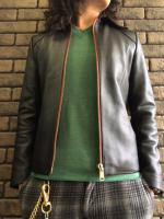 Burn Out Dead Stock Custum Leather JKT