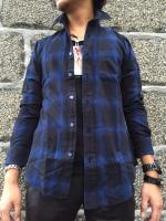 Western Dress length Check-shirts