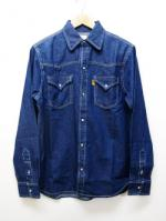 【先行予約6月入荷商品】70's Western Denim Shirts-INDIGO-