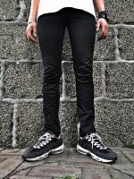 【究極の黒スキニー】FLASHBACK Rigit Strecj ComaTwill Black Pants