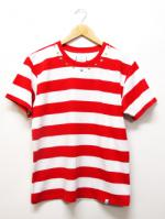 【先行予約7月入荷商品】Star Studs Border S/S Tee-RED-