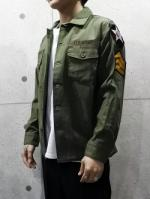 【先行予約3月入荷商品】Custom Military Shirts-KHAKI-
