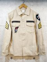 【先行予約3月入荷商品】Custom Military Shirts-BEIGE-