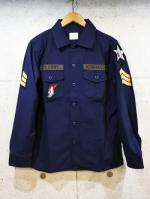 Custom Military Shirts-NAVY-