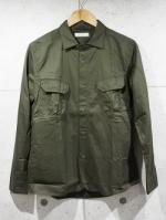 【先行予約5月入荷商品】Typewriter Army Shirts-KHAKI-