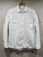 【先行予約5月入荷商品】Typewriter Army Shirts-WHITE-