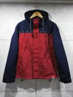 Bi Color Windbreaker-RED-