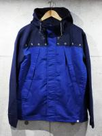 Bi Color Windbreaker-BLUE-