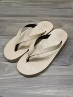 【先行予約5月入荷商品】Tan Leather Thong Sandal-NATURAL-