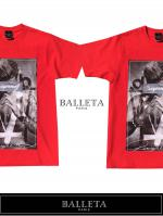 BALLETA17SS SUPJUS PHOTO T BALLETA17SS SUPJUS PHOTO T RED