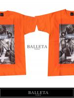 BALLETA17SS SUPJUS PHOTO T BALLETA17SS SUPJUS PHOTO T RED ORANGE