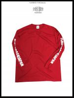 【FLASHBACK最新作17AW】Sleeve Logo Long Tee