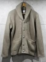 【先行予約12月入荷商品】Shawl Collar Knit Cardigan-GRAY-