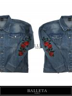 【BALLETA18SS】Over Size Rose Denim JKT INDIGO