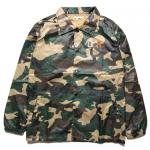 [DOPE ドープ]WORLDWIDE COACHES JACKET WOODLAND